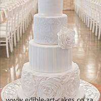Elegant mixed 4 tier Cake