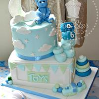 Baby Shower Baby Boy Cake