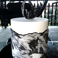 Black&white marble elegance