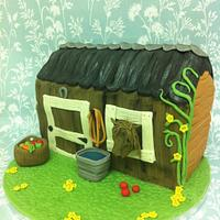 Stable & Pony Cake by CakeyBakey Boutique