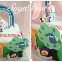 Kimmi Jnr World Cake by Mary @ SugaDust