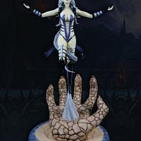 Queen Sindel Mortal Kombat 3 - Cake Con International