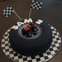 Sam's Tire Cake