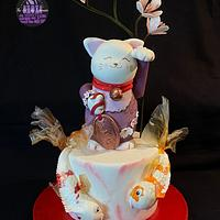 Lucky Cat- Japan International Cake Collaboration