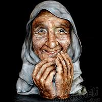Grandma (bust-portrait)
