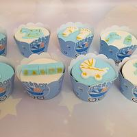 """""""Baby shower cupcakes & mini cupcakes"""" by Noha Sami"""