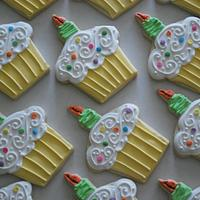 Cupcake Cookies! by Loren Ebert