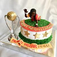Champion Galatasaray cake