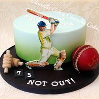 Hand Painted Cricket Theme