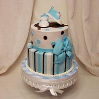 Torie's baby shower cake
