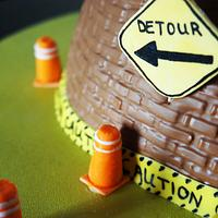 Construction cake by Olivia Elias