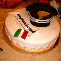 Marshal of the policeman cake