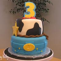 Toy Story 3 Birthday Cake