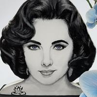Elizabeth Taylor (Homage Painting) by Le Creazioni di Ninfa - Ninfa Tripudio