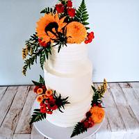 Autumn wedding