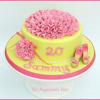 Sammy's cake by The Sugarpaste Fairy