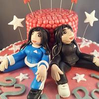 My best friend forever cake by Cakes~n~Dishes