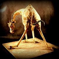 Jack's Giraffe cake