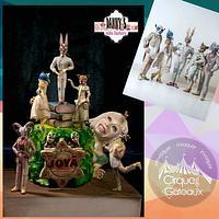 Cirque des Gâteaux collab JOYÁ SHOW