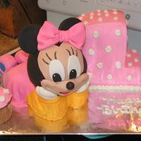Baby Minnie 1st birthday