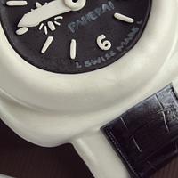Panerai Watch Cake