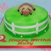 Thelwell pony cake