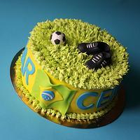 football championship brazil 2014 cake