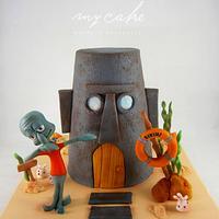 Calamardo cake