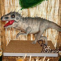 Dino Chocolate Cake by Pirikos, Cake Design