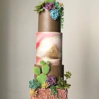 Succulent cake!,,,