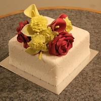 Spring Bouquet Cake