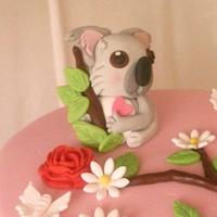 Koala Cake by BellaButterflys