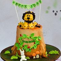 Lion cake ..
