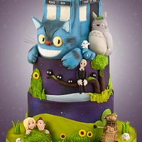 Doctor Who meets My Neighbour Totoro