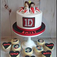 Exploding 1D cake