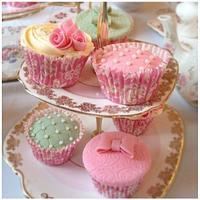 Vintage cupcakes (1) by Mummypuddleduck