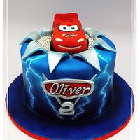 """Electrifying """"Lightning McQueen"""" With Airbrushed Lightning Effect!"""