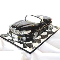BMW Z4 Cake by chezza79
