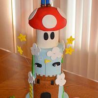 Super Mario Cake by Heidi