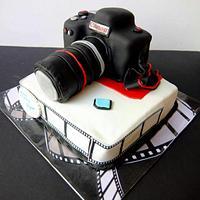 A Camera cake