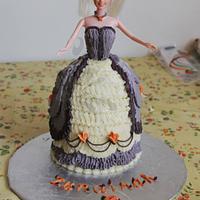 Buttercream Doll Cake