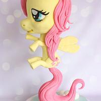 Floating Pony Cake