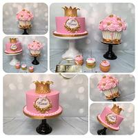 Royal princess cake