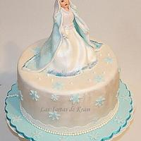 The Snow Queen cake