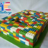 LEGO 8th Birthday Cake by The Faith, Hope and Charity Bakery