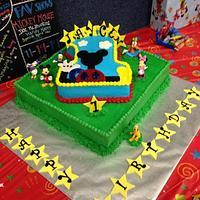 Jaycen 1ft.Birthday Cake