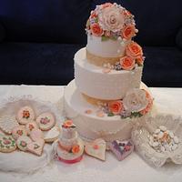 sweet wedding table