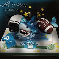 Sharks - CAke