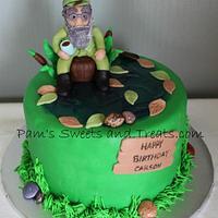 Si Robertson Duck Dynasty Cake