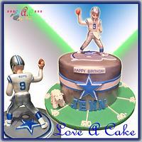 Romo-themed Birthday Cake